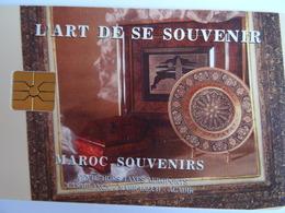 Télécarte MAROC L'art De Se Souvenir (Traditionnal Kraft) 80U AVE Phone, Used, Très Bon état Voir Scan - Marokko