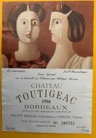 11457 - Château Toutigeac 1986 La Conversation De Josef Hausenberger - Art