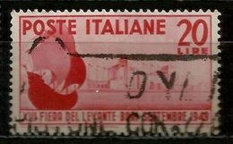 # 1949 Italia Repubblica: Fiera Del Levante, Usato - 6. 1946-.. Repubblica