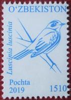 Uzbekistan  2019  Birds  1 V MNH - Oiseaux