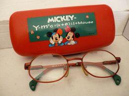 OCCHIALI BAMBINI TOPOLINO MICKEY MOUSE CUSTODIA RIGIDA VINTAGE K6 - Brillen