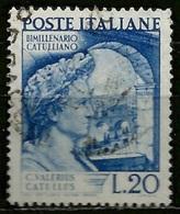 # 1949 Italia Repubblica: Catullo, Usato - 6. 1946-.. Republic
