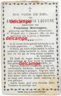Bidprentje Anna Lacoere Bulskamp En Overleden Te Wulpen 1881 Meersseman Frans Doodsprentje - Images Religieuses