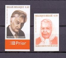 3221/3222 LITERATUUR  ONGETAND   POSTFRIS** 2003 - Belgique