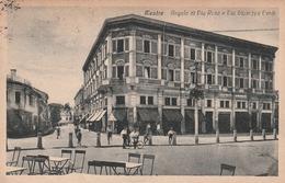 MESTRE D'EPOCA ANNO 1925 DETTAGLI DEL CENTRO ANGOLO VIE RESA E G. VERDI ANIMATA - Venezia