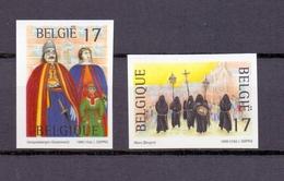 2823/24 FOLKLORE ONGETAND  POSTFRIS** 1999 - Belgium