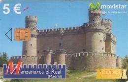 TARJETA TELEFONICA DE ESPAÑA USADA. (CASTILLOS) (120). - Spanje