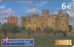 TARJETA TELEFONICA DE ESPAÑA USADA. (CASTILLOS) (121). - Spanje
