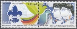 Hellas 2007 Michel 2421A - 2422A Neuf ** Cote (2015) 11.50 Euro Europa CEPT Scoutisme - Grèce