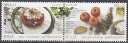 Hellas 2005 Michel 2290A - 2291A Neuf ** Cote (2015) 9.00 Euro Europa CEPT La Gastronomie - Grèce