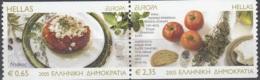 Hellas 2005 Michel 2290C - 2291C Neuf ** Cote (2015) 9.00 Euro Europa CEPT La Gastronomie - Grèce