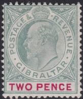 Gibraltar    .   SG     .   48       .     *    .       Mint-hinged       .   /    .  Ongebruikt - Gibraltar