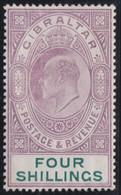 Gibraltar    .   SG     .   63   (2 Scans)      .     *    .       Mint-hinged       .   /    .  Ongebruikt - Gibraltar