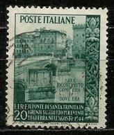 # 1949 Italia Repubblica: Ponte Di S. Trinità, Usato - 6. 1946-.. Republic