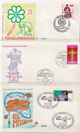 Germany 3 FDCs From 1975 - [7] Federal Republic