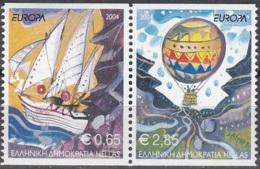 Hellas 2004 Michel 2224C - 2225C Neuf ** Cote (2015) 11.00 Euro Europa CEPT Les Vacances - Grèce