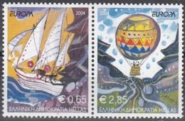 Hellas 2004 Michel 2224A - 2225A Neuf ** Cote (2015) 11.00 Euro Europa CEPT Les Vacances - Grèce