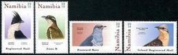 Namibia 2019 Fauna Birds Cuckoo 4v MNH - Cuckoos & Turacos