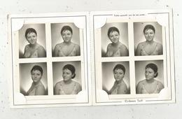Pochette , Carte Réponse , Bazar D'Amsterdam,Paris ,8 Photographies ,femme ,2 Scans , Frais Fr 3.15 E - Personnes Anonymes