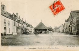 Jarnages - Grande Rue Et Place Du Marché - France
