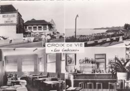 """CROIX-DE-VIE  (85) Hotel Restaurant """" Les Embruns """" Vues Multiples - Saint Gilles Croix De Vie"""