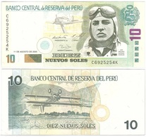 Peru - 10 N. Soles 2005 VF+ Lemberg-Zp - Peru