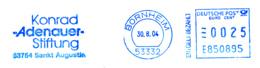 Freistempel 3868 Konrad Adenauer Stiftung - BRD