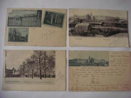 Lot De 8 Cartes De GEMBLOUX - Institut Agricole ( Vues Diverses Dont Quelques Unes Peu Courantes ) 1902 - Gembloux