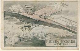 Aviazione 1 Guerra - Viaggiata Nel 1914 (2 Immagini) - Illustratori & Fotografie