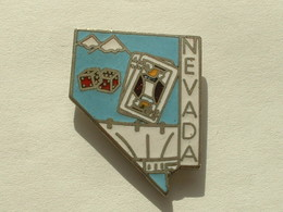 PIN'S ETAT DU NEVADA - SIGNE MAFCO - Villes