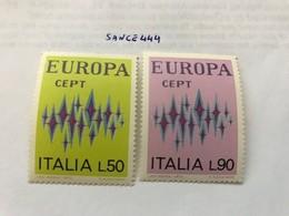 Italy Europa 1972   Mnh - 1946-60: Mint/hinged