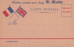 Guerre 14-18 : Franchise Militaire : Publicité Alcool De Menthe De Ricqlès - Guerre 1914-18