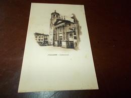 B733  Fossano Cuneo Cattedrale Non Viaggiata Cm14x9 Piccole Screpolature A Margine - Italia
