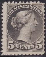 Canada    .   SG   .     106       .    (*)    .     No Gum    .   /    .   Geen Gom - 1851-1902 Regering Van Victoria