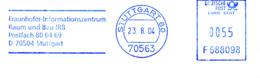 Freistempel 3887 Fraunhofer Information - BRD