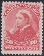Canada    .   SG   .     115   (2 Scans)      .    (*)    .     No Gum    .   /    .   Geen Gom - 1851-1902 Regering Van Victoria