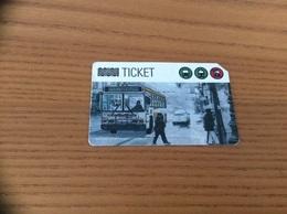 Ticket De Transport (bus, Métro, Tramway) MUNI - CLIPPER - ( GO WARRIORS) SAN FRANCISCO - USA - Metro