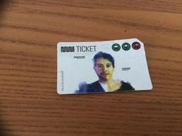 Ticket De Transport (bus, Métro, Tramway) MUNI - CLIPPER - (JONATHAN CRISSIE) SAN FRANCISCO - USA - Metro