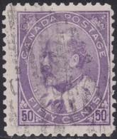 Canada    .   SG   .     187  (2 Scans)    .    O        .     Cancelled    .   /    .   Gebruikt - 1903-1908 Regering Van Edward VII