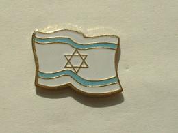 PIN'S ISRAËL - DRAPEAU - Villes