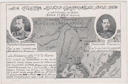 Guerra Russo-Giapponese Del 1904 , Prima 15° Di Marzo, Marescialli Kuropatkine E Yamagata  - F.p. -  1904 - Guerres - Autres