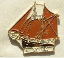 PIN'S BATEAU - LE ELLIDA - Bateaux