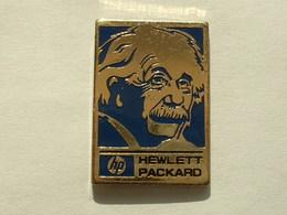 PIN'S HP - HEWLETT PACKARD - ALBERT EINSTEIN - Informatique