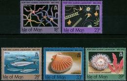 Insel Man MiNr. 507/11 ** 100 Jahre Laboratorium Für Meeresbiologie - 1952-.... (Elisabeth II.)