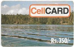 Sri Lanka - Celltel - River Scene, Prepaid 350Rs, Used - Sri Lanka (Ceylon)