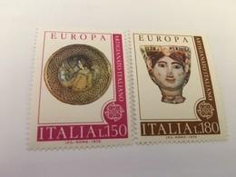 Italy Europa 1976   Mnh #abc - 1946-60: Mint/hinged