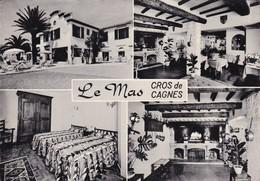 06: Cros-de-Cagnes : Le Mas - Hôtel-Restaurant-Pension ( Cpsm G.F. ) - France