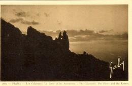 CORSE -- PIANA - Les Calanques - Le Coeur Et Les Amoureux - Ed. G Alessandri - Andere Gemeenten