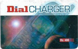 Sri Lanka - Dialog Tel. - Dial Charger, Phone, Prepaid 400Rs, Used - Sri Lanka (Ceylon)