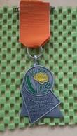 Medaille :Netherlands  - Oranje Comite , W.S.V Comtu Westland Naaldwijk  / Vintage Medal - Walking Association - Netherland